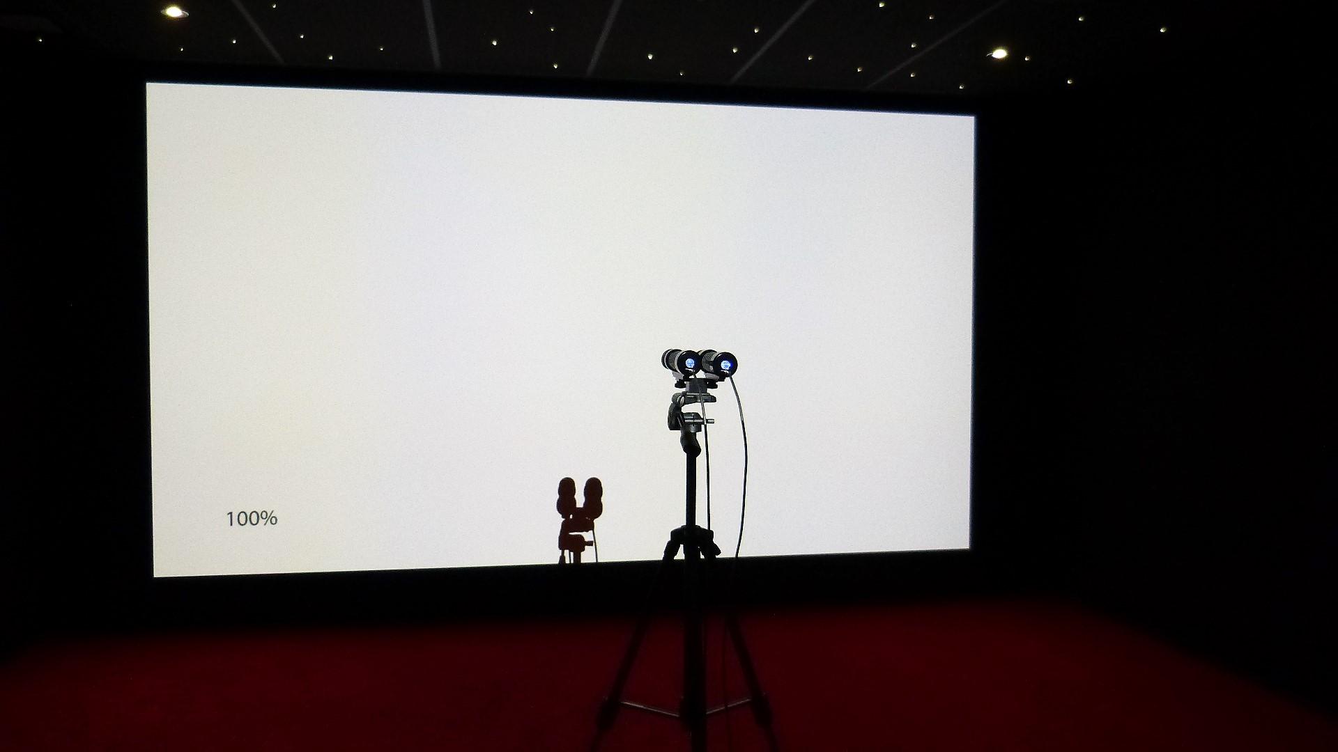 Calibrage d'un projecteur Sony VPL-VW260ES en Savoie