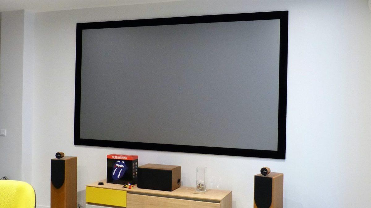 Ecran Xtrem Screen Zero Frame Ultra Black Contour