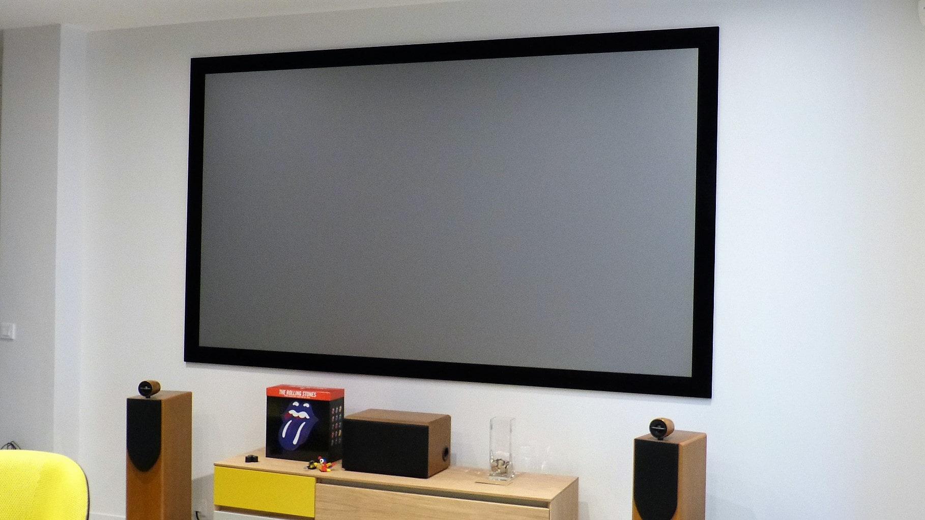 Calibration d'un vidéoprojecteur JVC DLA-X5900 à Paris