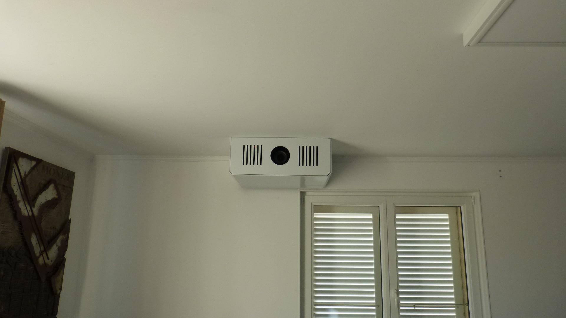 Installation d'un projecteur Sony VPL-VW760ES