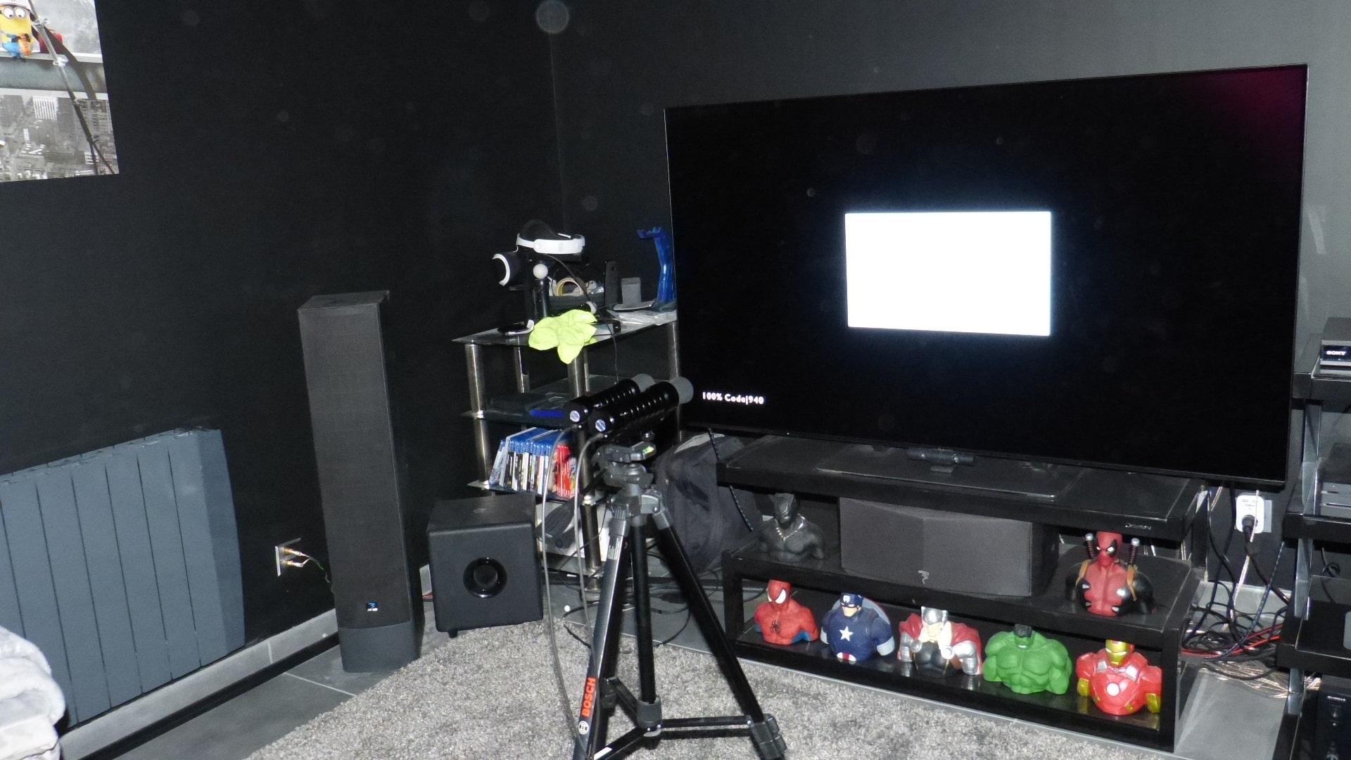 Calibrage d'un écran OLED Panasonic 65EZ950