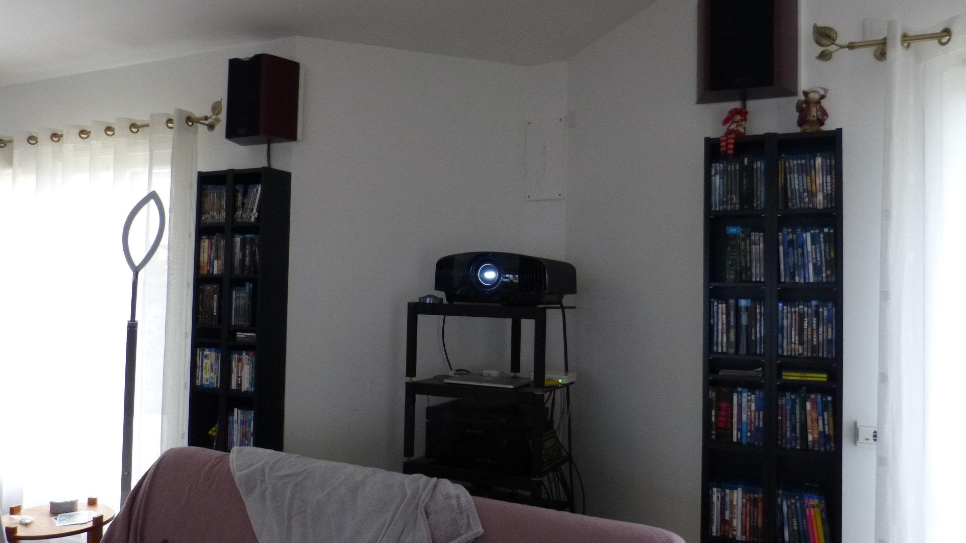 Calibrage d'un projecteur Sony VPL-VW270ES