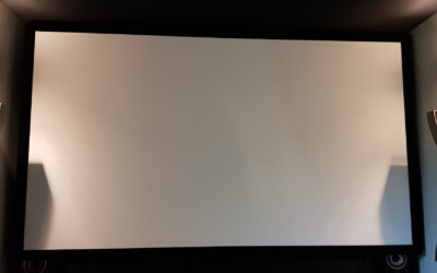 Calibrage dans la Drôme d'un Sony VPL-VW590ES